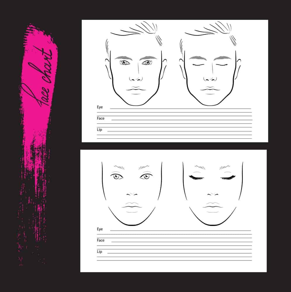 face-chart-croquis-maquillage-technique